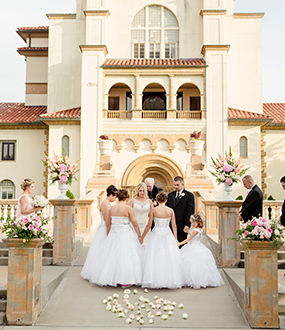 wedding ceremonies for large and small weddings
