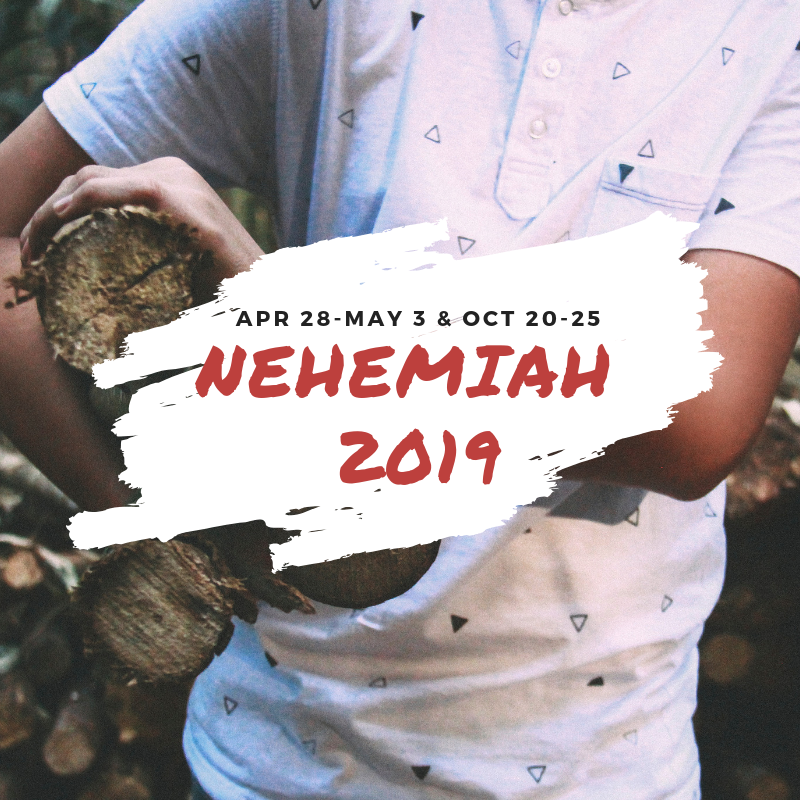 Nehemiah Service Retreats 2019