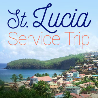 St. Lucia Service Trip 2021. Travel With Unity. Special service retreat. St. Lucia, February 2021.