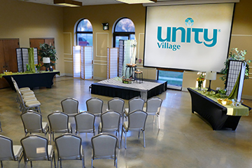 book your next corporate or banquet event at Unity Village