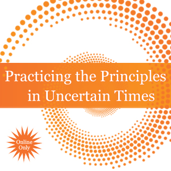 Practicing the Principles in Uncertain Times, New Thought online discussion, How to Find Inner peace in 2020