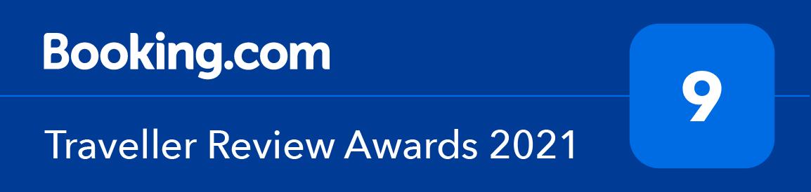 Bookings.com Traveller Review Award 2021