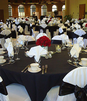 gorgeous wedding receptions with full service catering kansas city area